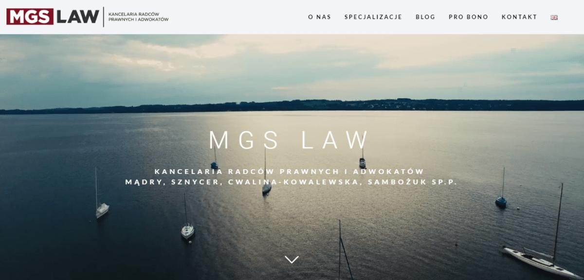 MGS Kancelaria Radców Prawnych iAdwokatów